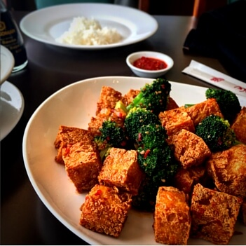 Spicy Tofu with Broccoli-Mekong Restaurant Menu - Mekong Restaurant Gluten Free - Mekong Restaurant Gluten Free